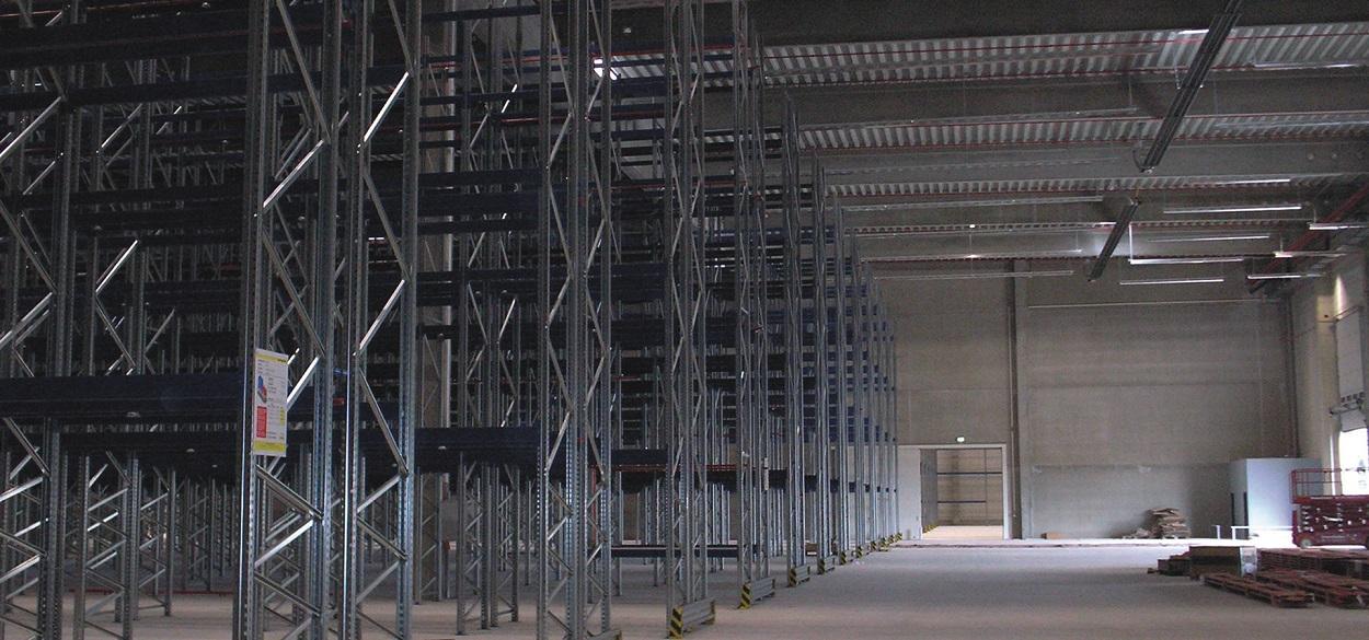PRIMAGAS - Flüssiggas Lagerhaltung - Lagerhalle