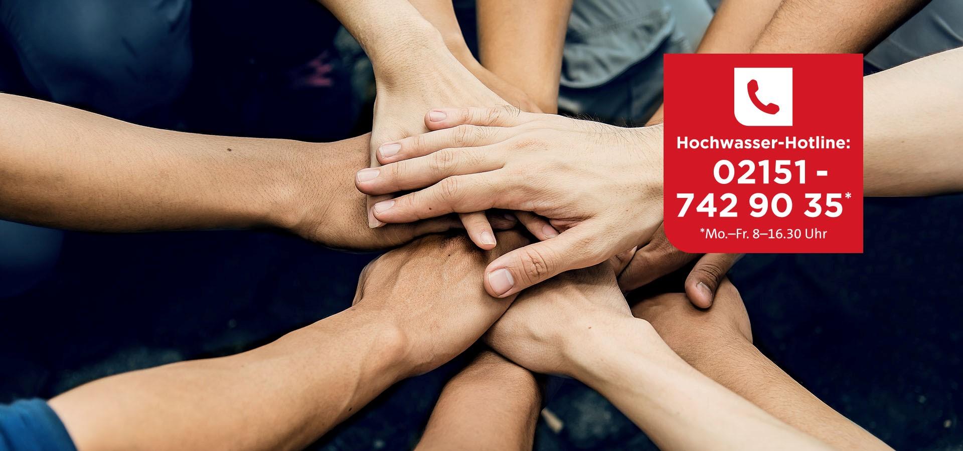 PRIMAGAS - Hochwasserhilfe - Hochwasser-Hotline