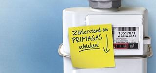 PRIMAGAS Bestandskunden - Zählerstandsmeldung, Zählerstand melden, Zählerstand senden