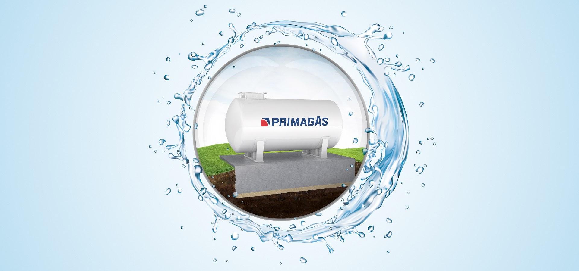 PRIMAGAS - Flüssiggas für Hochwassergebiete