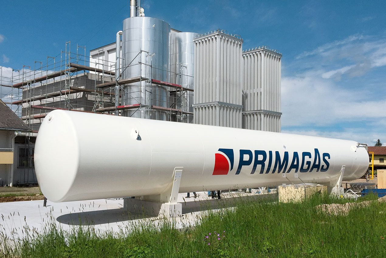 PRIMAGAS - LNG - LNG Anlage