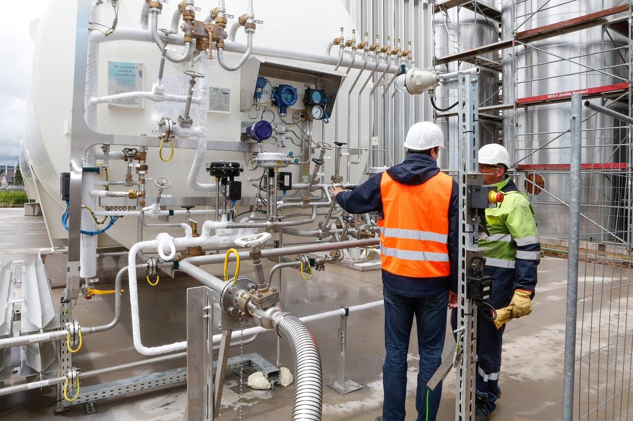 PRIMAGAS LNG - Servicespektrum - Lieferung und Service