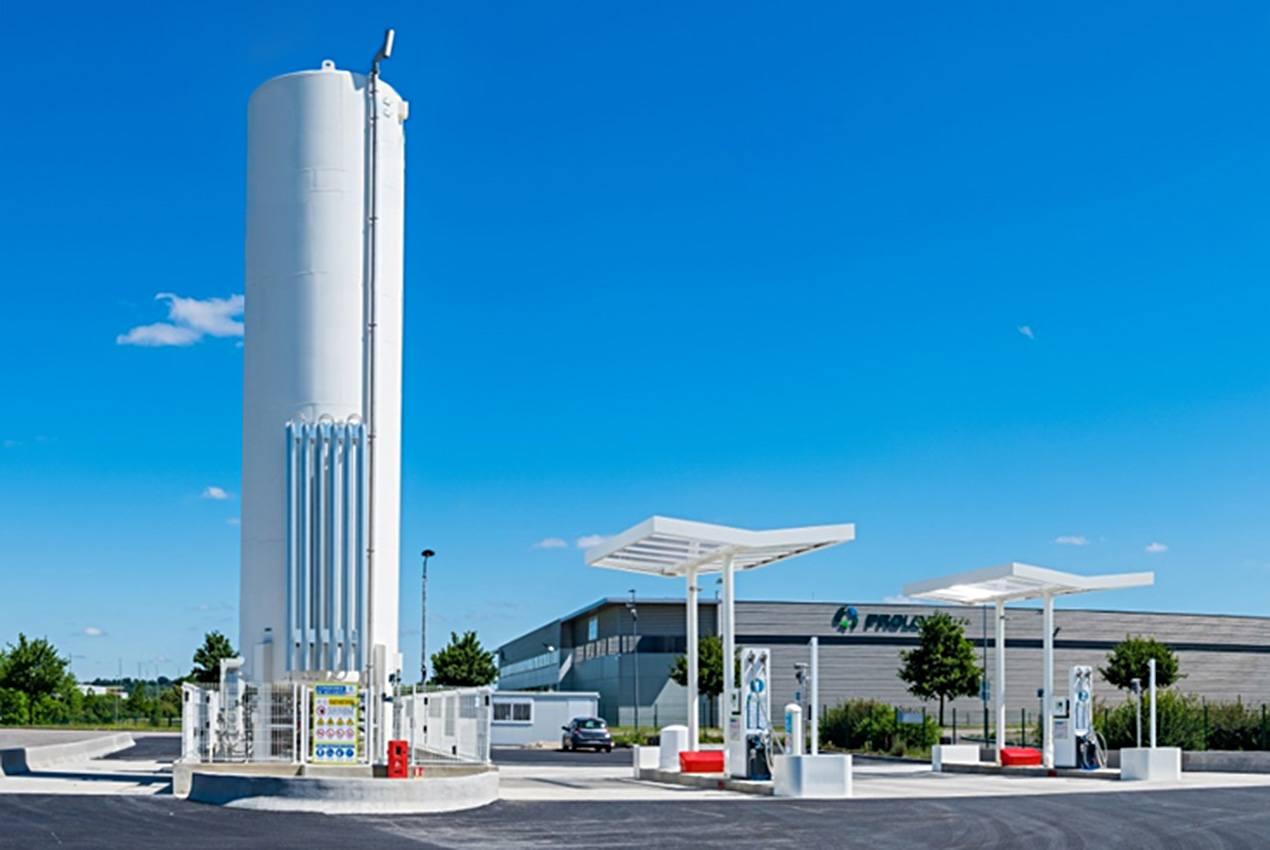 PRIMAGAS LNG Tankstelle - öffentliche LNG-Tankstelle