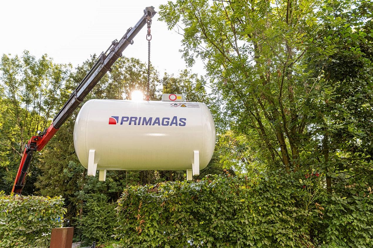 PRIMAGAS - Flüssiggas für Mobilheim- und Campingparks - Tank