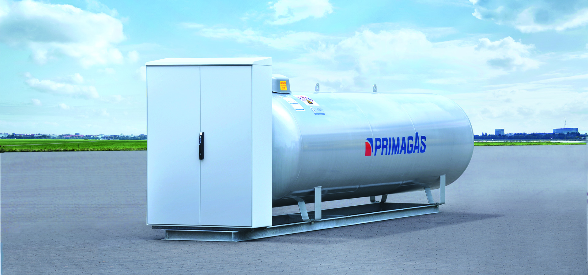 PRIMAGAS Verdampferkompaktanlage
