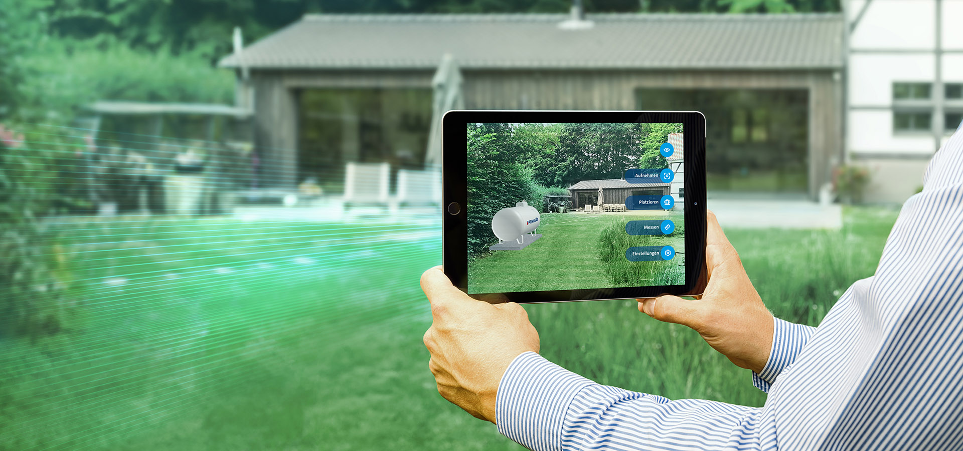 PRIMAGAS AR-App,  Augmented reality App