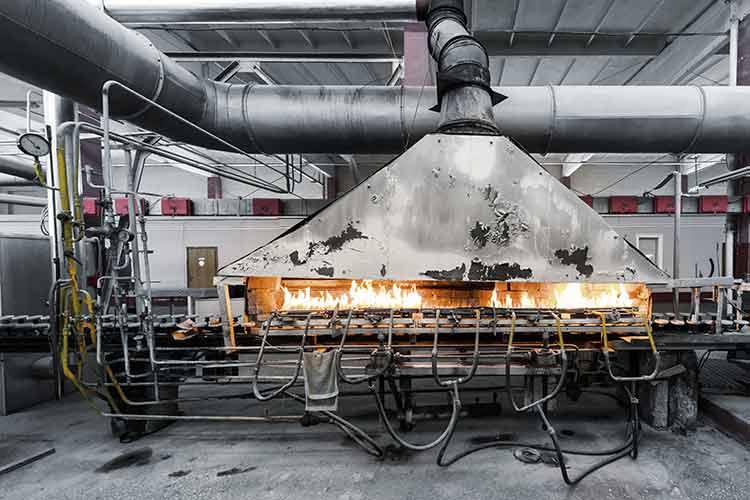 PRIMAGAS LNG - Glasproduktion - Alternativer Energieträger