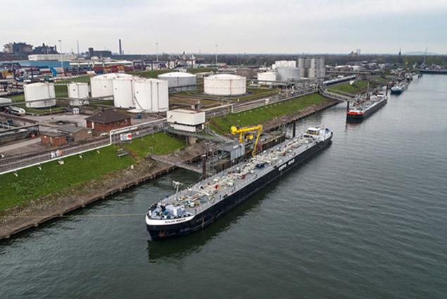 Schiff mit BioLPG