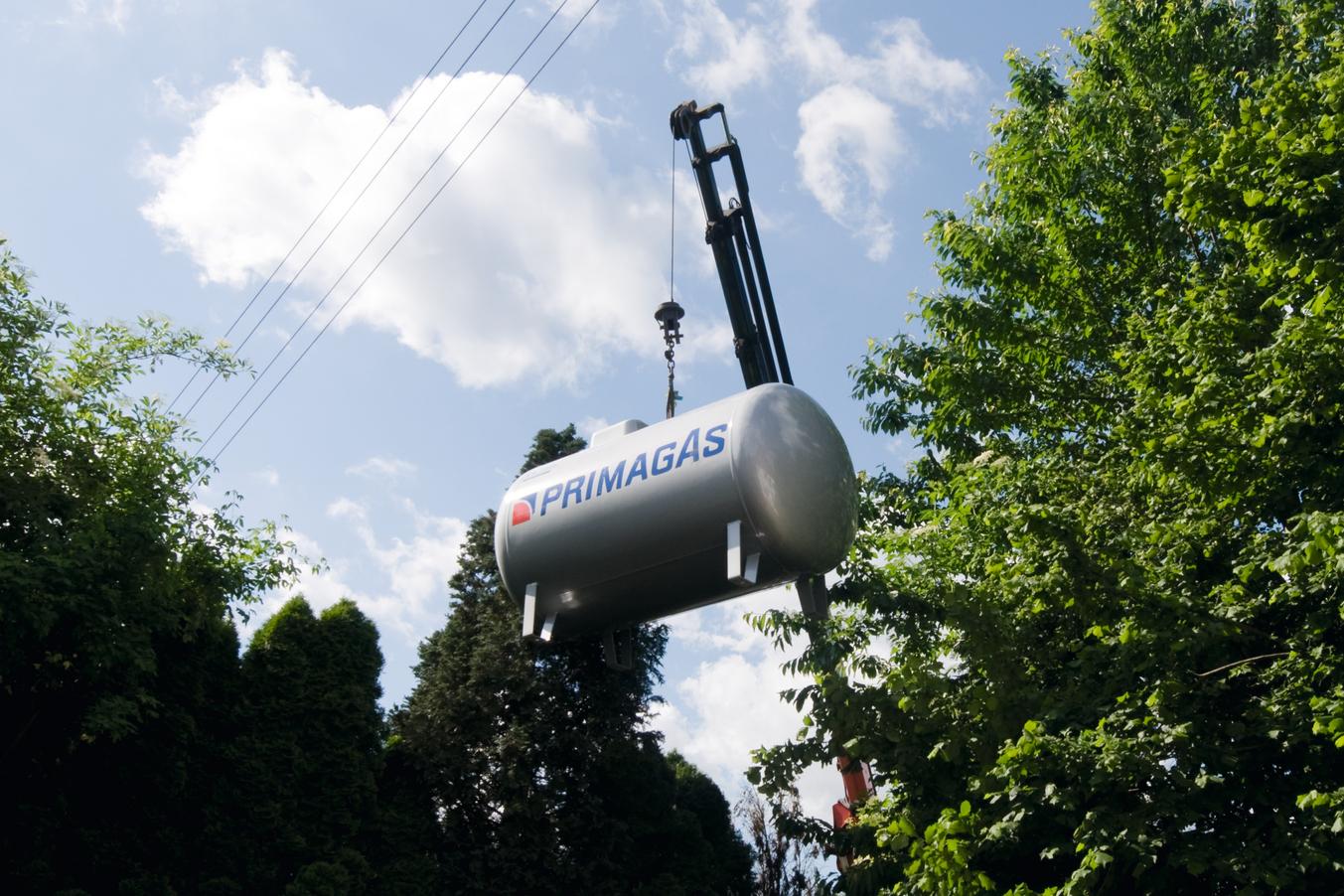 PRIMAGAS - Flüssiggasversorgung für Einfamilienhäuser, Privatkundenversorgung